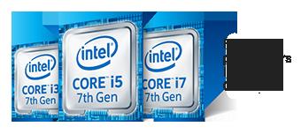 Logo de la famille de processeurs Intel Core i de 7e génération