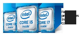 Famille de processeurs Intel Core 6e génération
