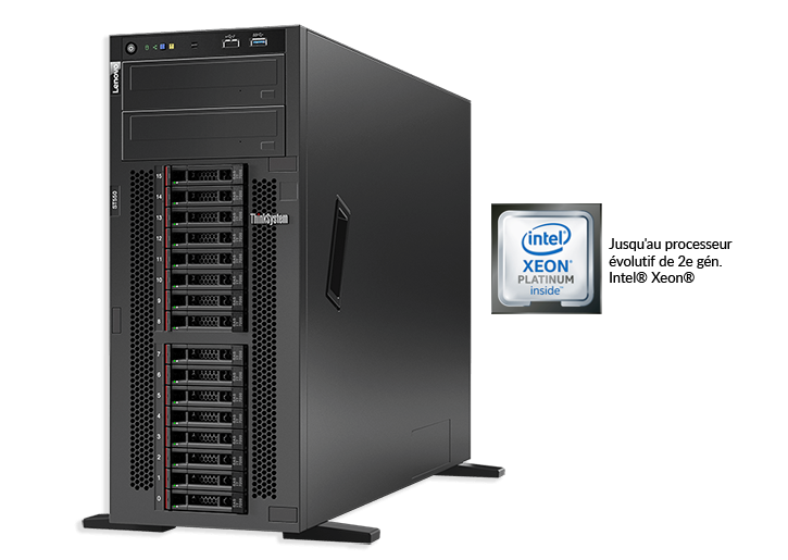 Serveur tour Lenovo ThinkSystem ST550